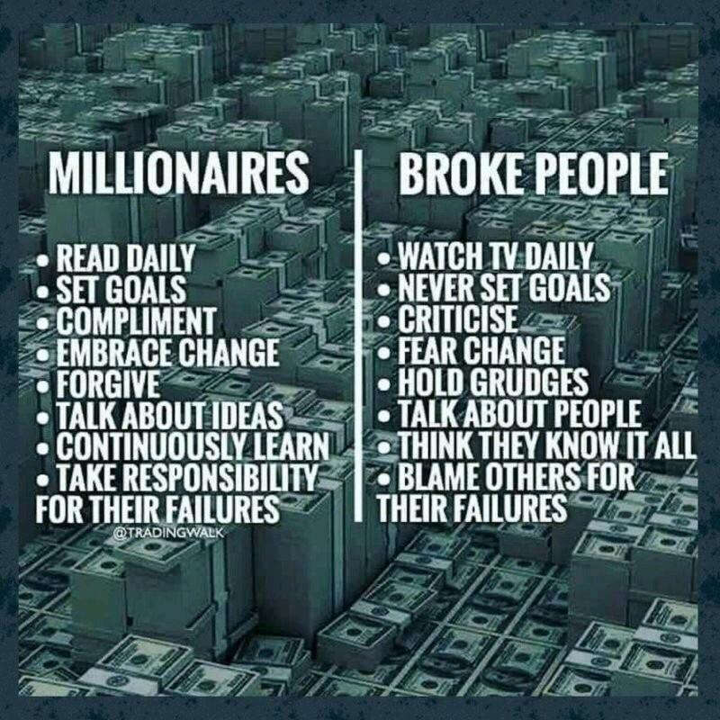 Cum se comporta diferit cei bogati fata de cei saraci sau chiar falimentari